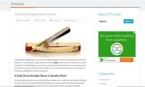 Amazon affiliate training course : review post