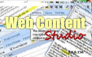 web content studio logo