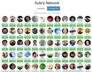 kyle's friends network